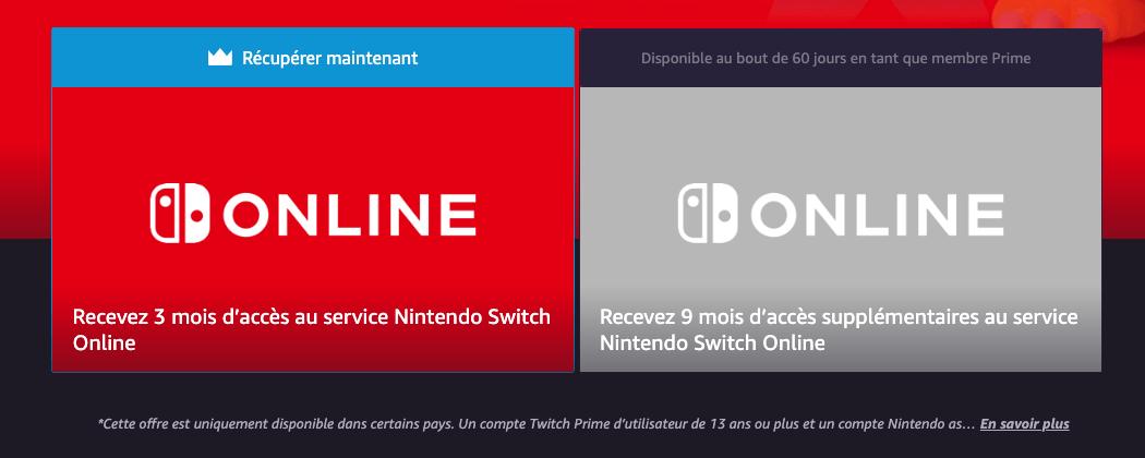 Amazon Prime Offre 3 A 12 Mois D Abonnement Au Nintendo Switch Online Comment En Profiter