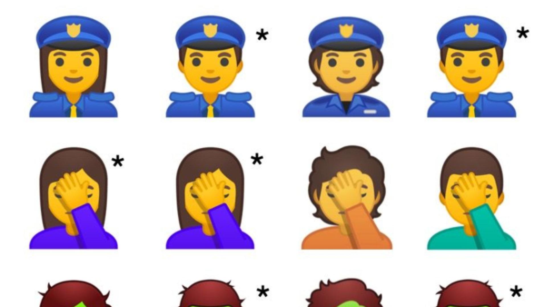 Google Incorpore Les Emojis De Genre Neutre Sur Android