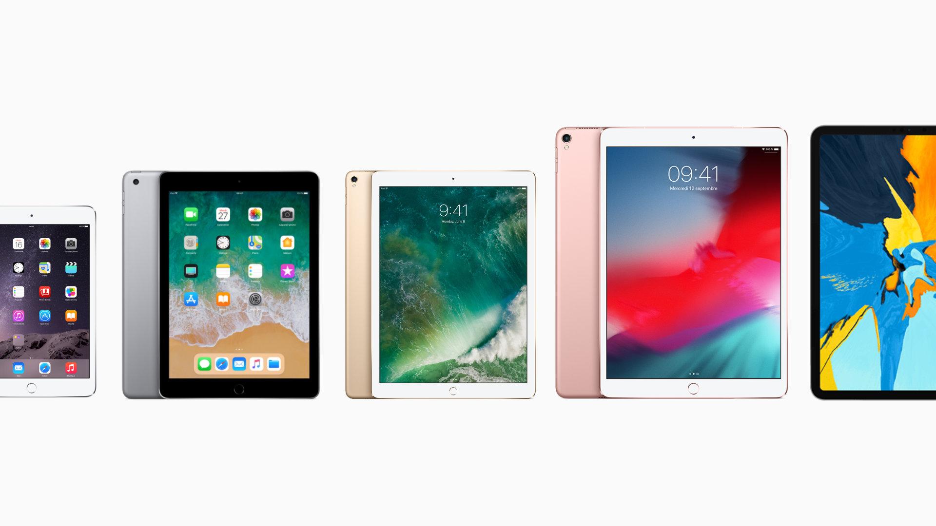 9 ans, 20 modèles : l'iPad, ou comment une tablette s'est réinventée pour dominer le marché