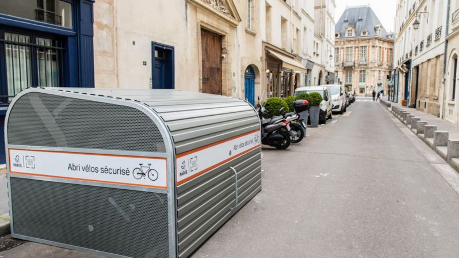 Abri Vélo Pas Cher À paris, la mairie veut lutter contre les vols de vélo avec