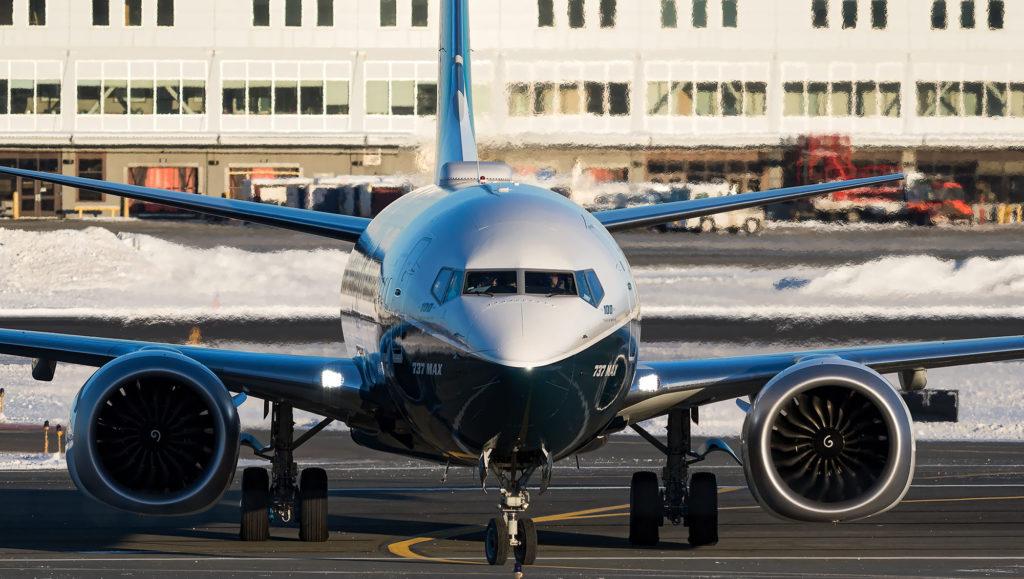 Boeing 737 MAX avion