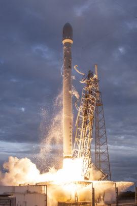 Falcon 9 décollage