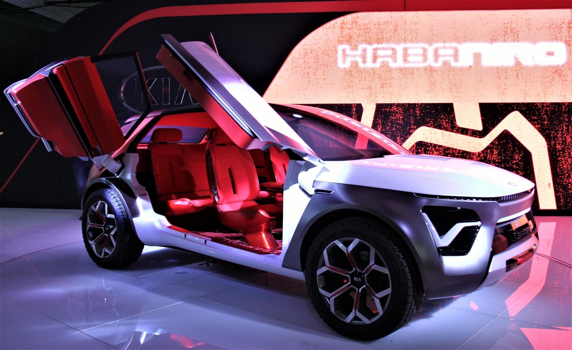 Concept HabaNiro : quand Kia rêve de voiture électrique et autonome