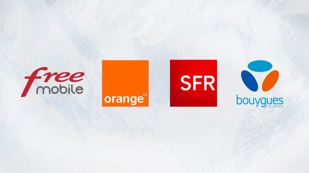 opérateurs orange free mobile sfr bouygues telecom