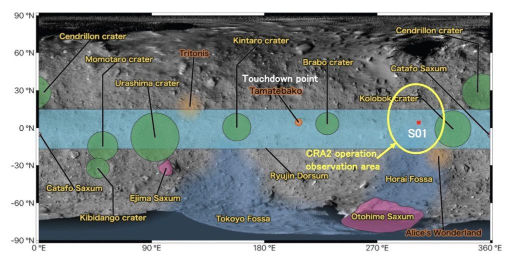 Zone du cratère