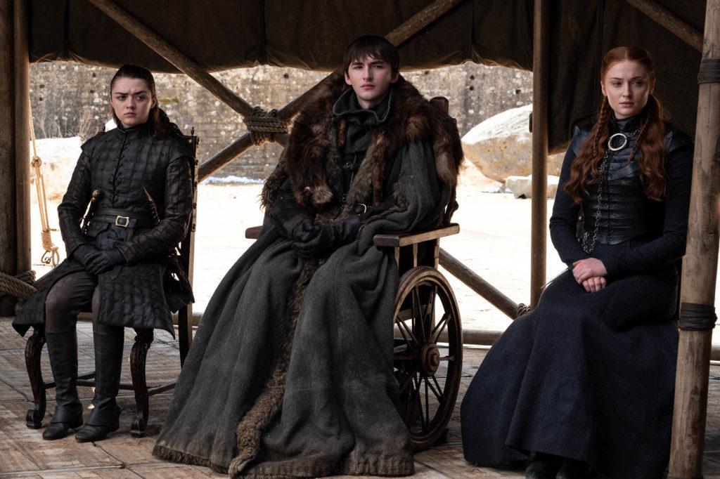 Arya, Bran, Sansa