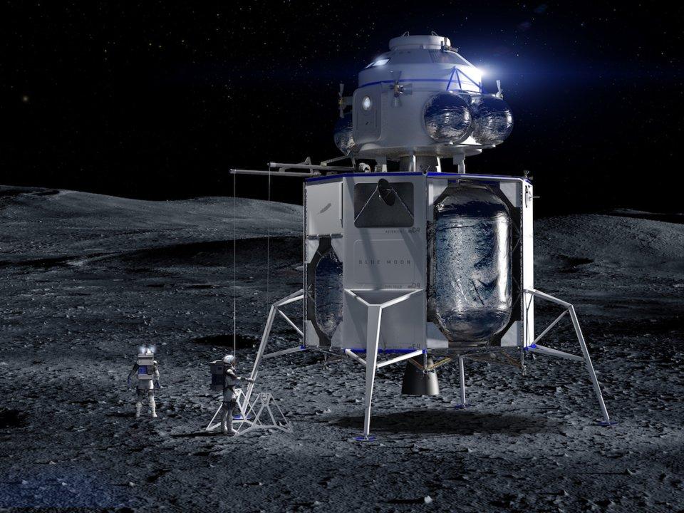 Blue Moon module lunaire