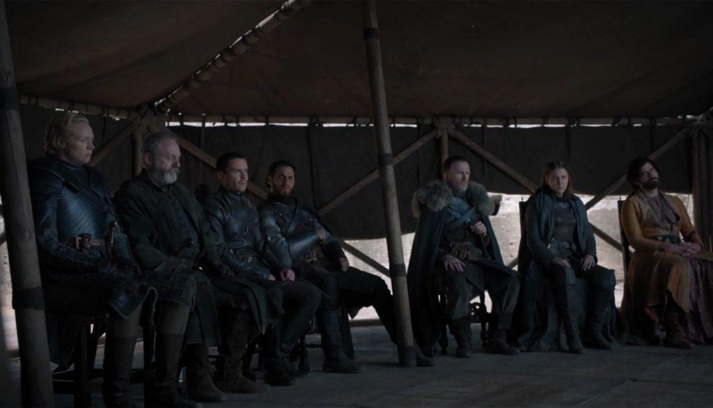 Brienne Davos Gendry inconnu inconnu Yara inconnu