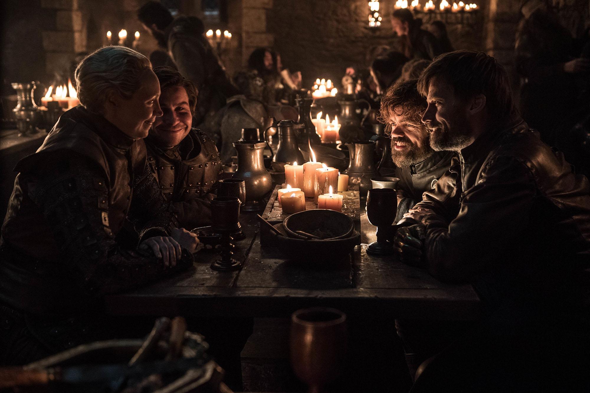Brienne Podrick Tyrion Jaime Lannister