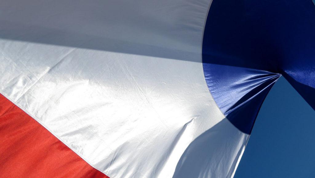drapeau français france