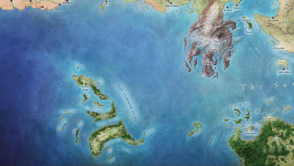 Naath et les îles d'été