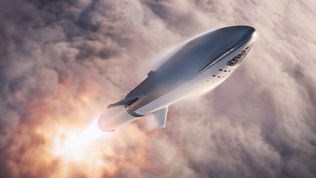 starship bfr super heavy big falcon rocket