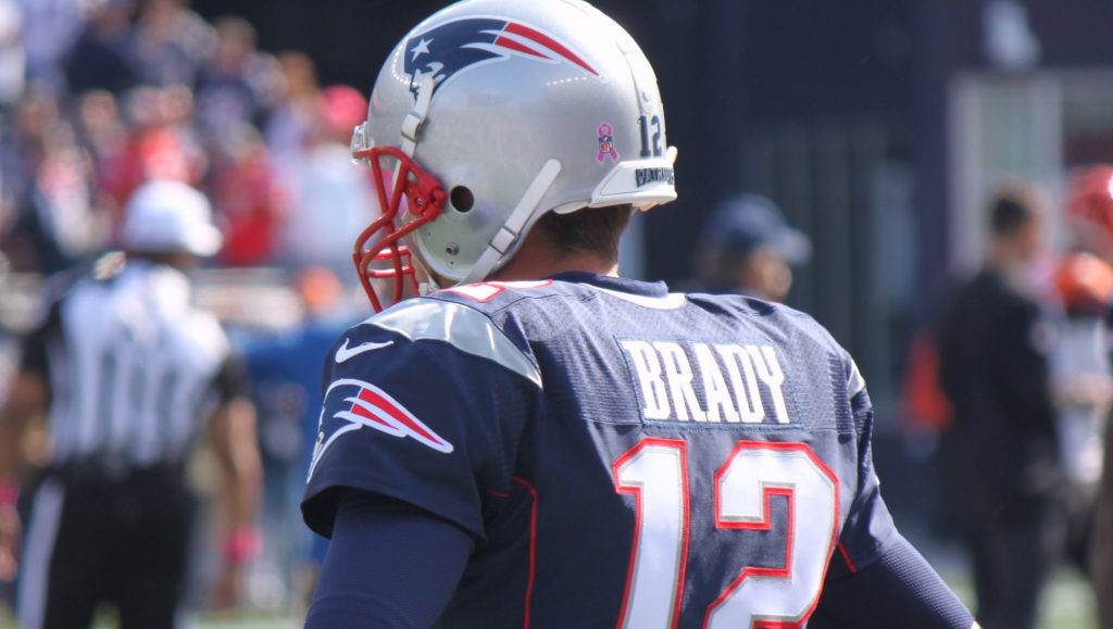 Tom brady football américain