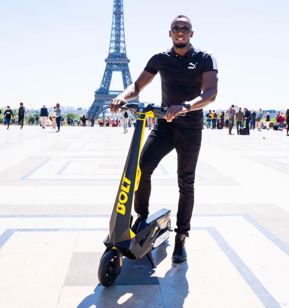 Usain Bolt n'aura pas le droit d'utiliser son nom pour ses trottinettes électriques