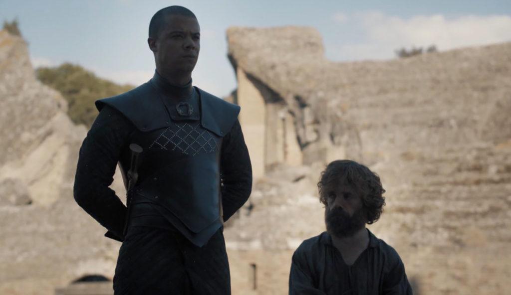 Ver Gris et Tyrion à la réunion