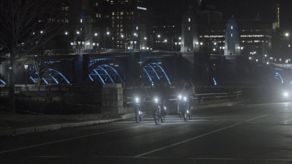 vélo lumière bicyclette
