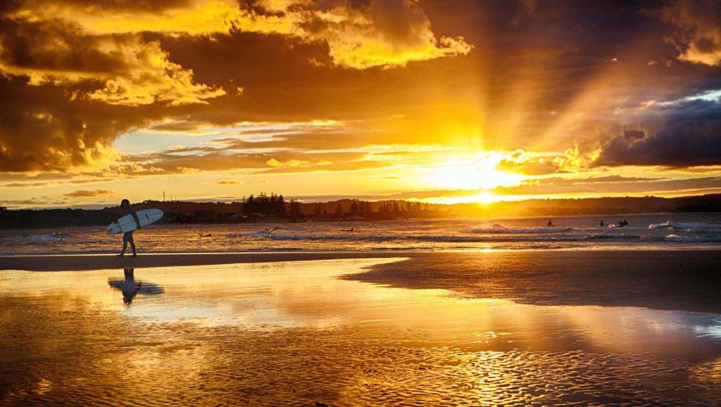 Australie plage surf
