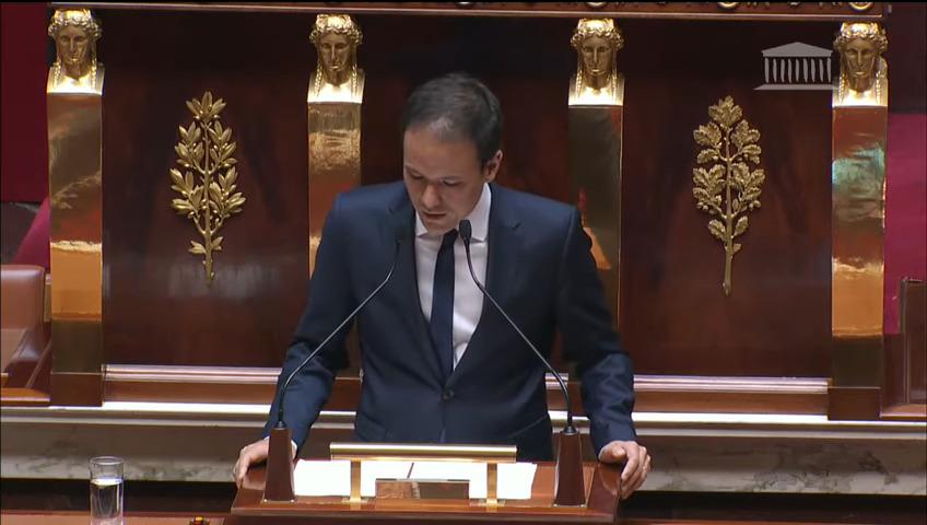 Cédric O à l'Assemblée nationale