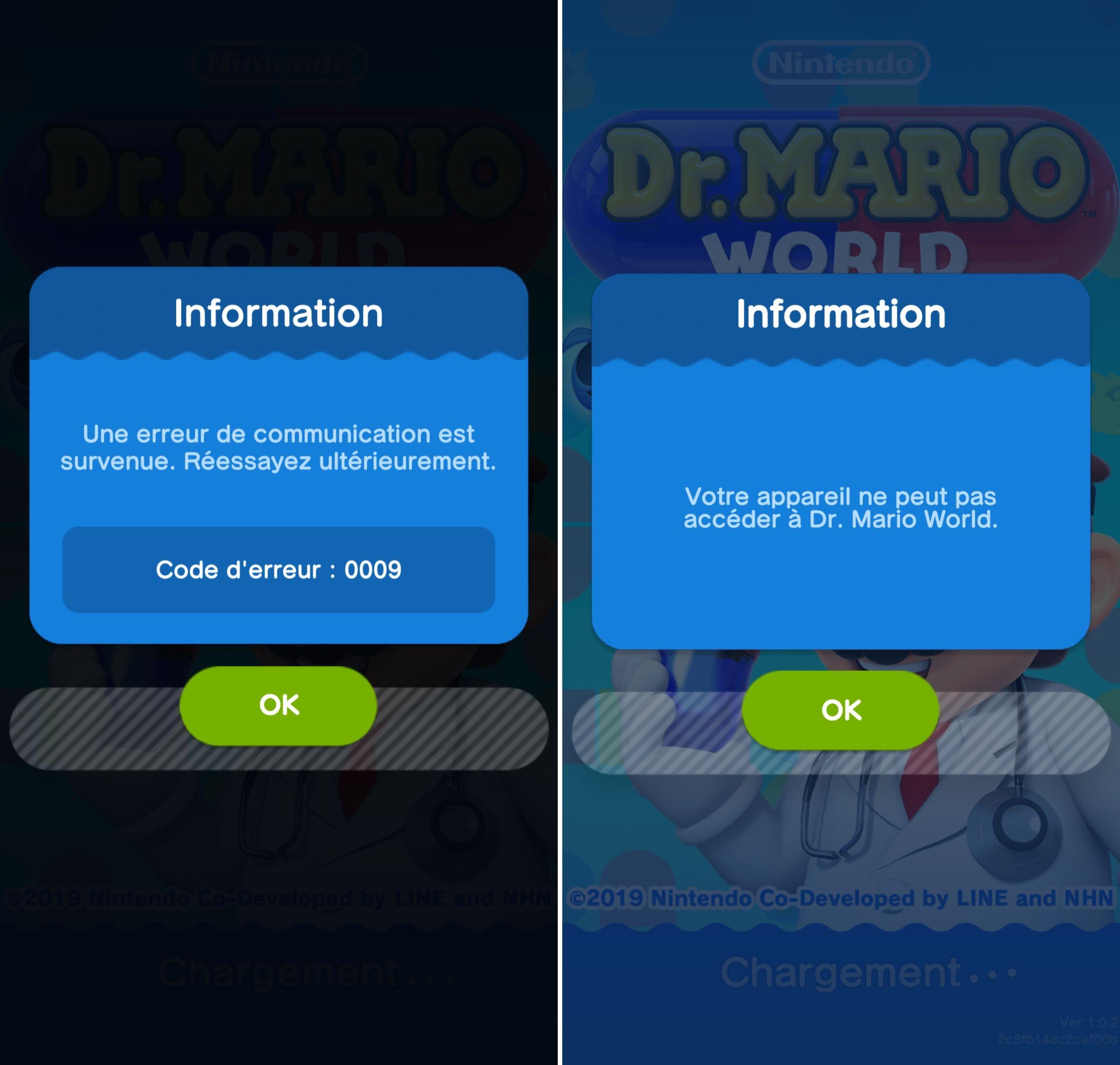 Vous avez du mal à jouer à Dr  Mario World ? Vous n'êtes pas les