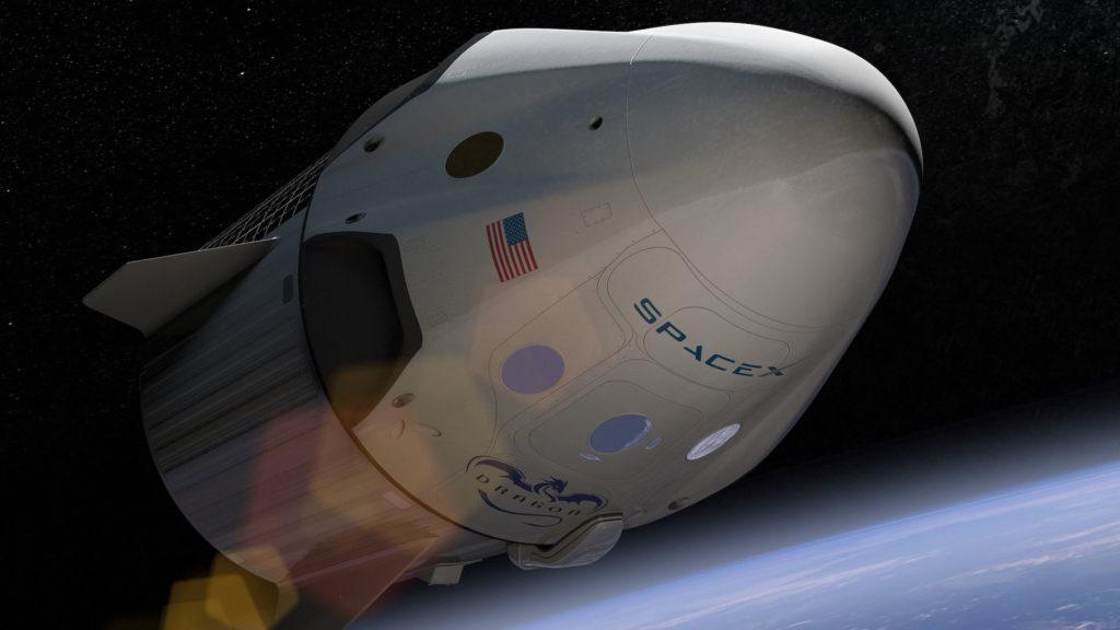 Dragon 2 - Anomalie lors d'une mise à feu statique - Page 11 Dragon-capsule-spacex-espace-1024x576