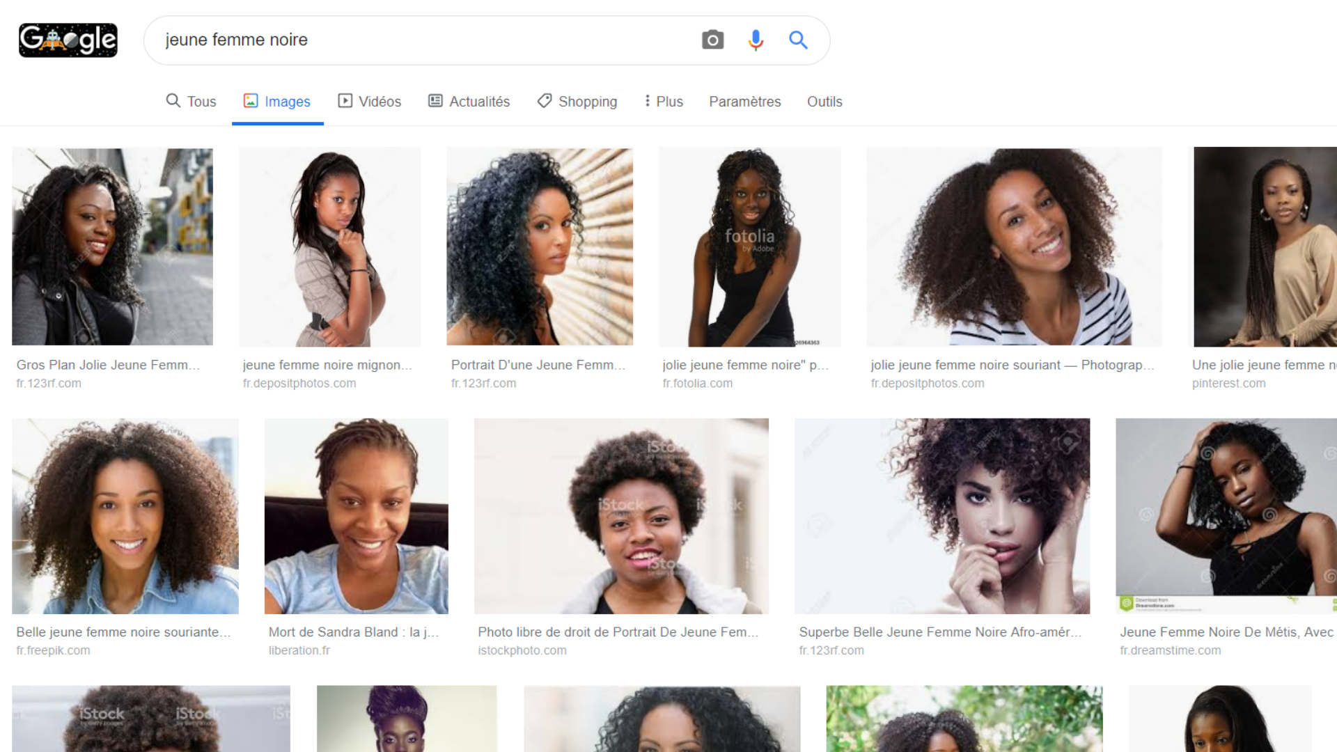 """Image result for Google change son algorithme pour ne plus associer d'office les femmes non-blanches au porno"""""""