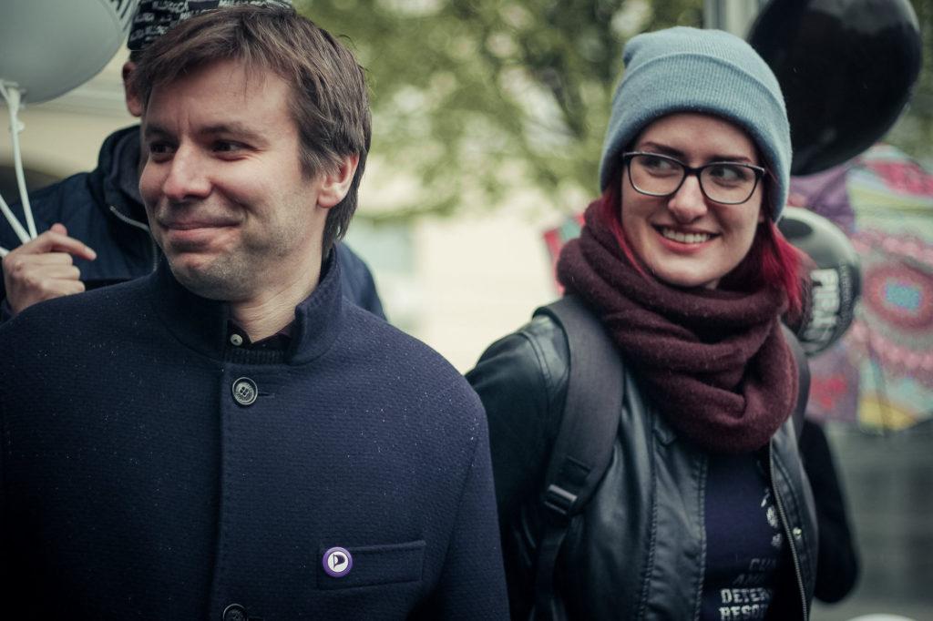 Marcel Kolaja et Markéta Gregorová