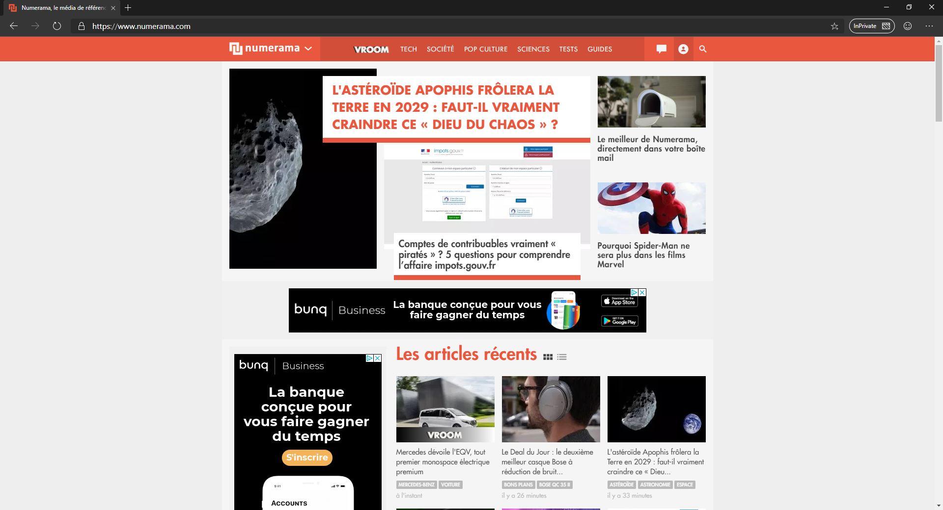 Microsoft Edge : découvrez les images de la bêta du nouveau navigateur web