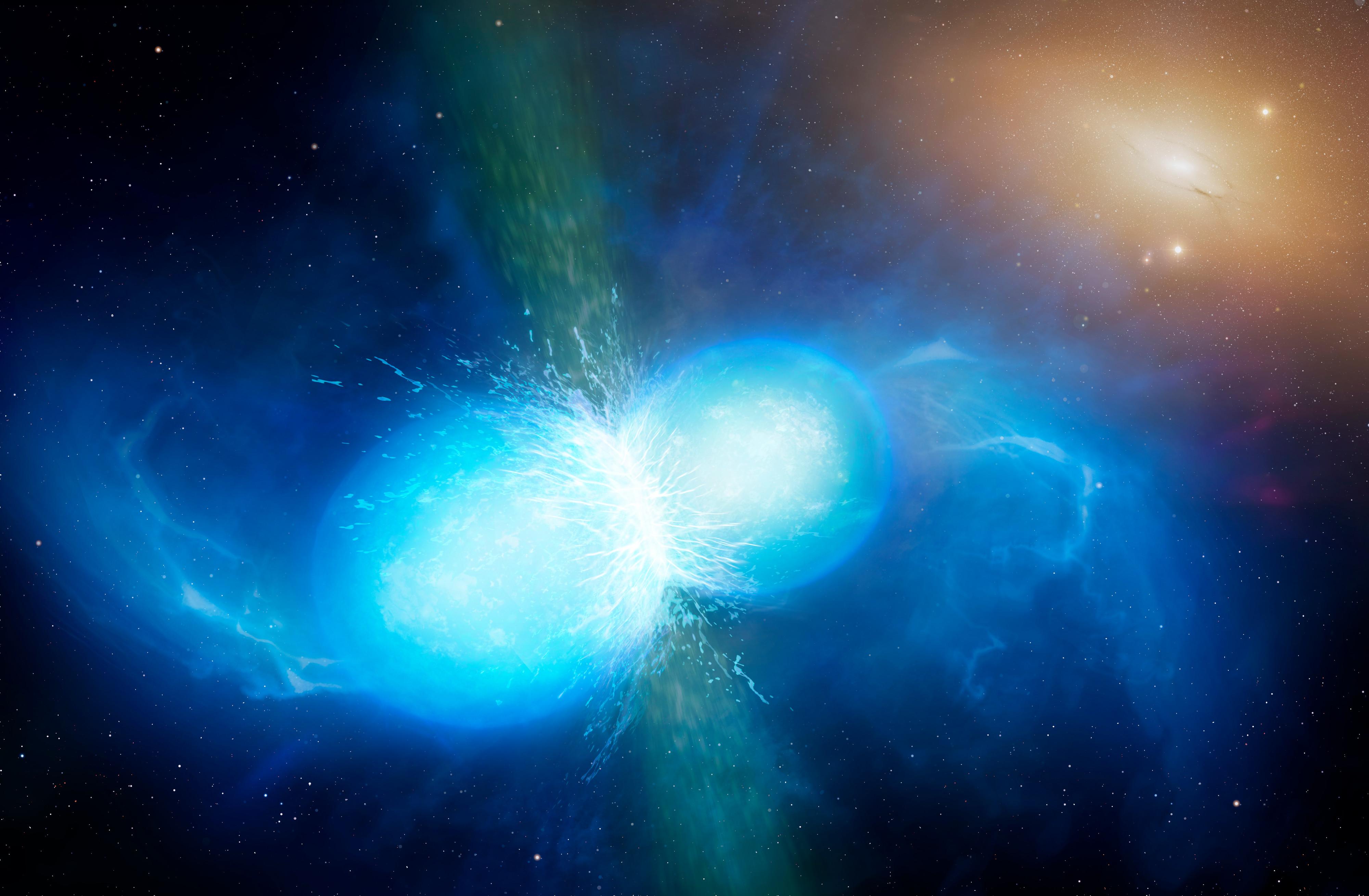 La Collision Entre Deux étoiles à Neutrons A été Reproduite