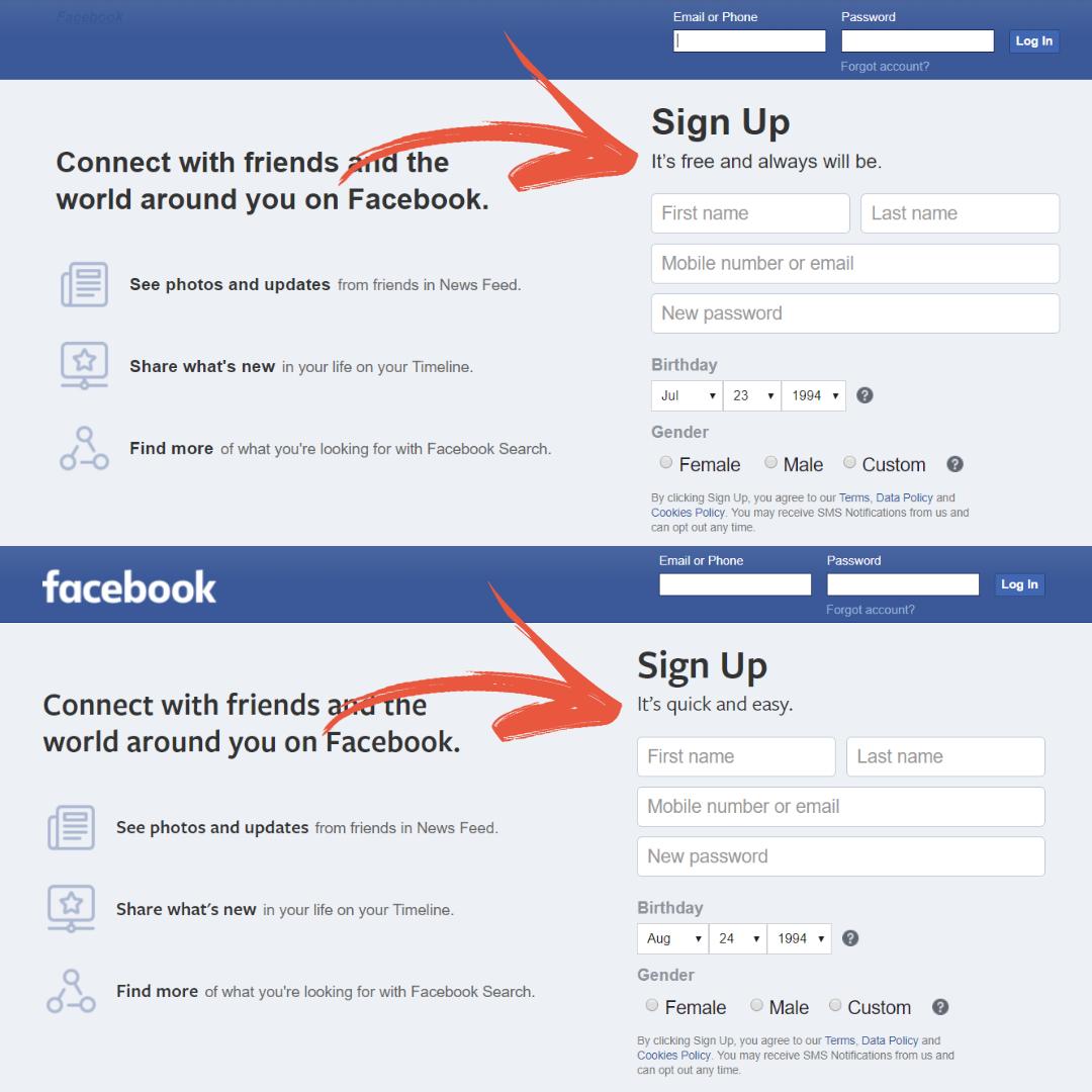 Facebook retire sa mention « restera toujours gratuit » mais assure que ce n'est qu'un changement esthétique
