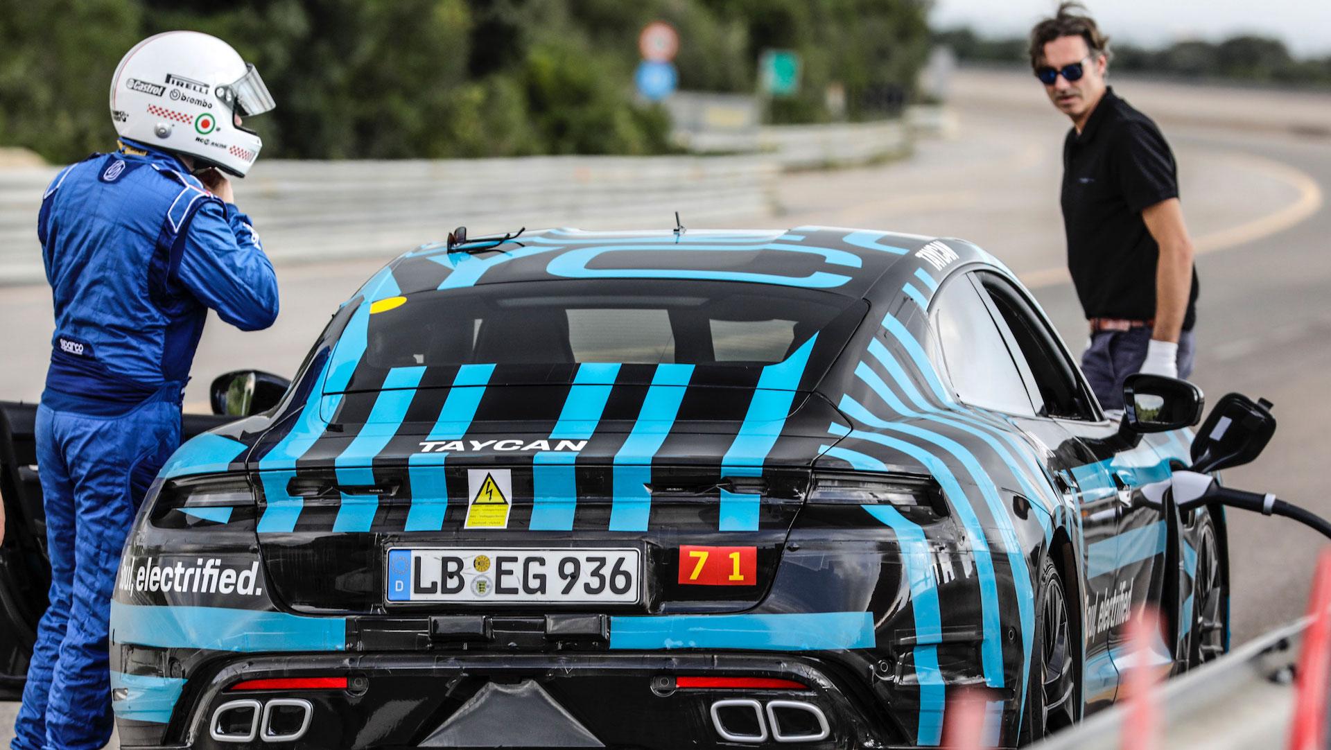 La Porsche Taycan électrique abat 3 425 kilomètres en 24 heures en pleine canicule