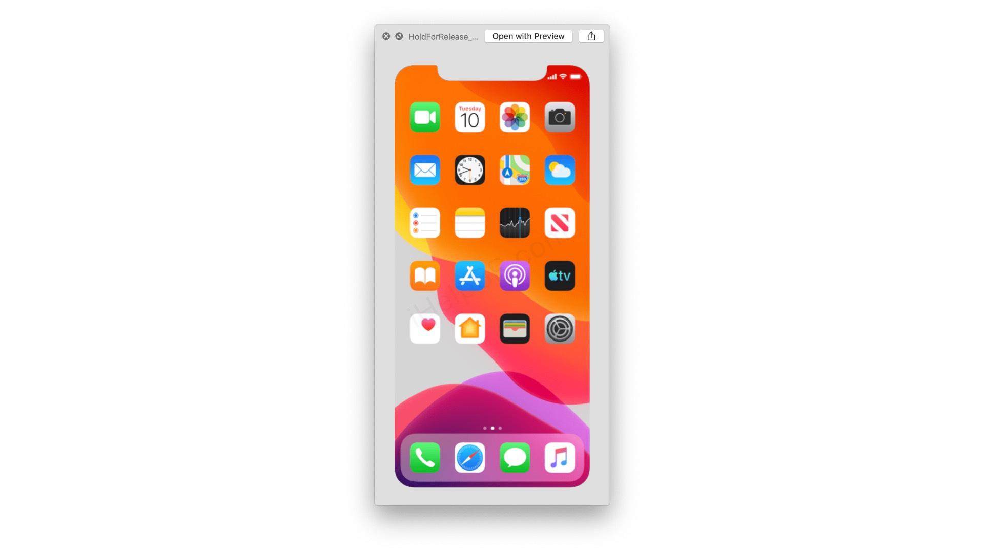 Les prochains iPhone seraient annoncés le 10 septembre