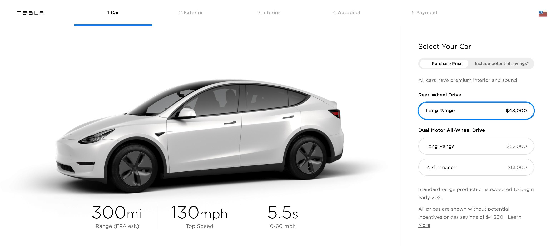 Pas encore sorti, le Tesla Model Y change déjà de prix
