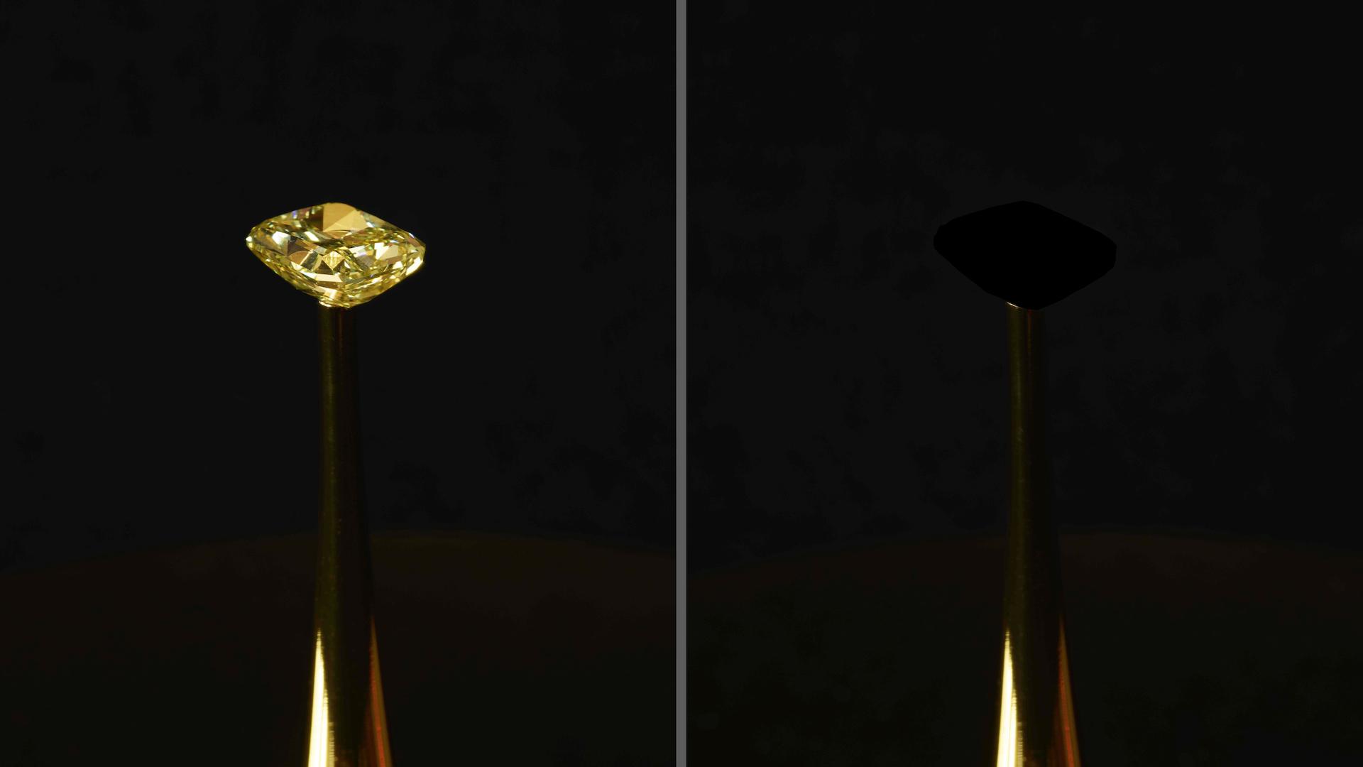 Ce nouveau matériau « plus noir que noir » absorbe 99,995 % de la lumière (et on ne sait pas pourquoi)