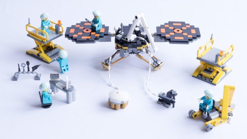 InSight Lego pièces