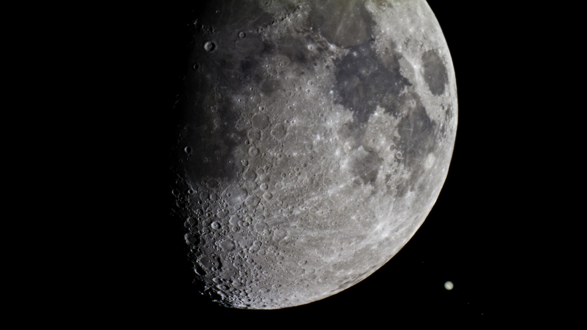 Ne Manquez Pas Le Beau Trio Entre La Lune Jupiter Et L