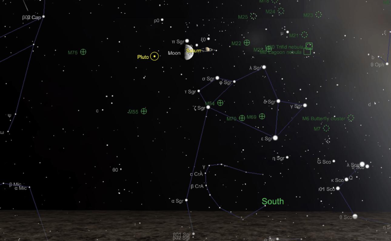 Ne loupez pas le rapprochement entre la Lune et Saturne ce dimanche 8 septembre