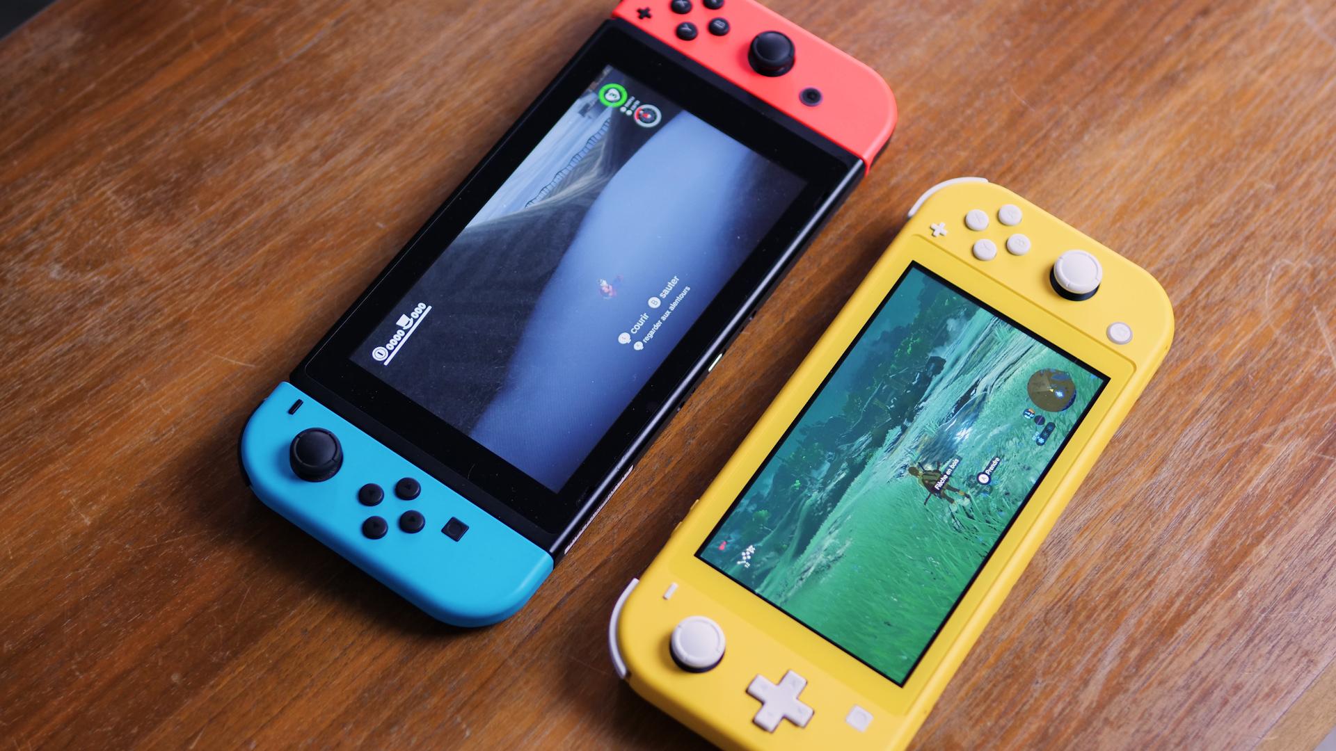 Nintendo Switch versus Switch Lite : quelle console acheter ?