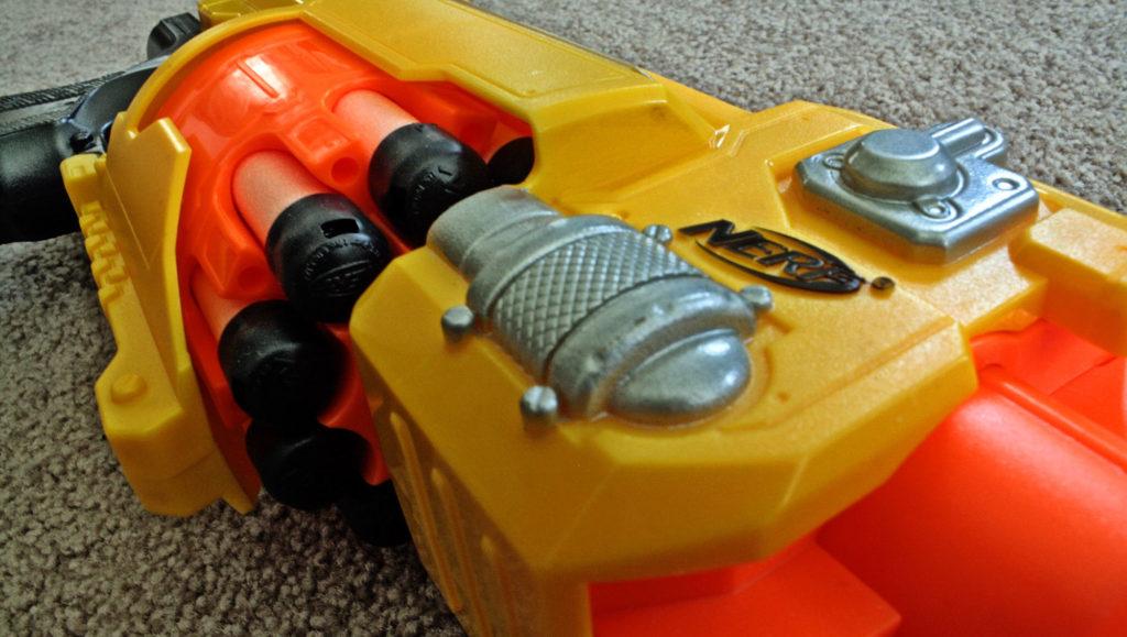 Nerf arme gun hasbro