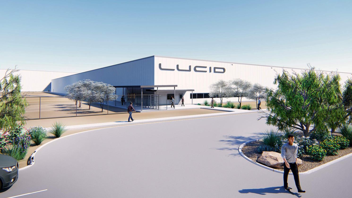 Lucid Motors : le concurrent de Tesla veut faire comme Tesla et partage des images de son usine