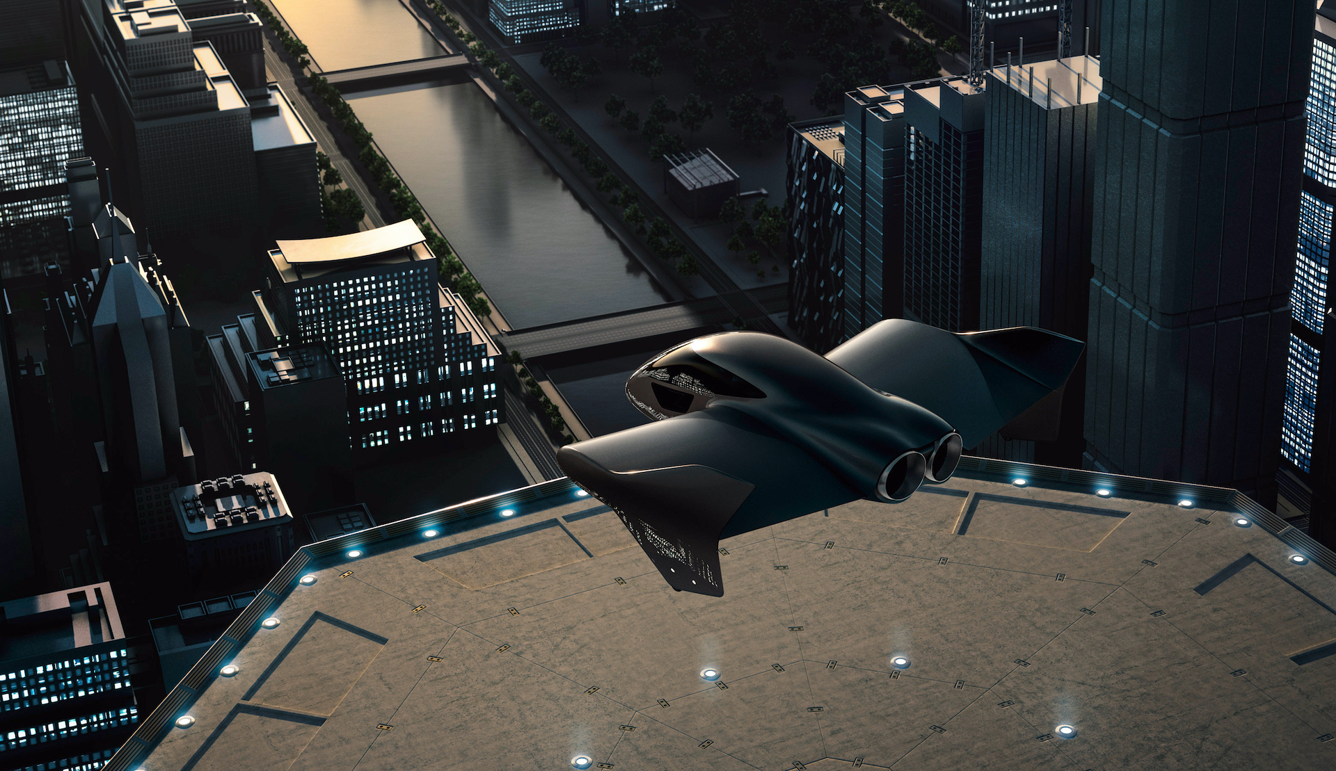 Urbain, aérien et électrique : Porsche et Boeing s'associent pour imaginer le futur du transport