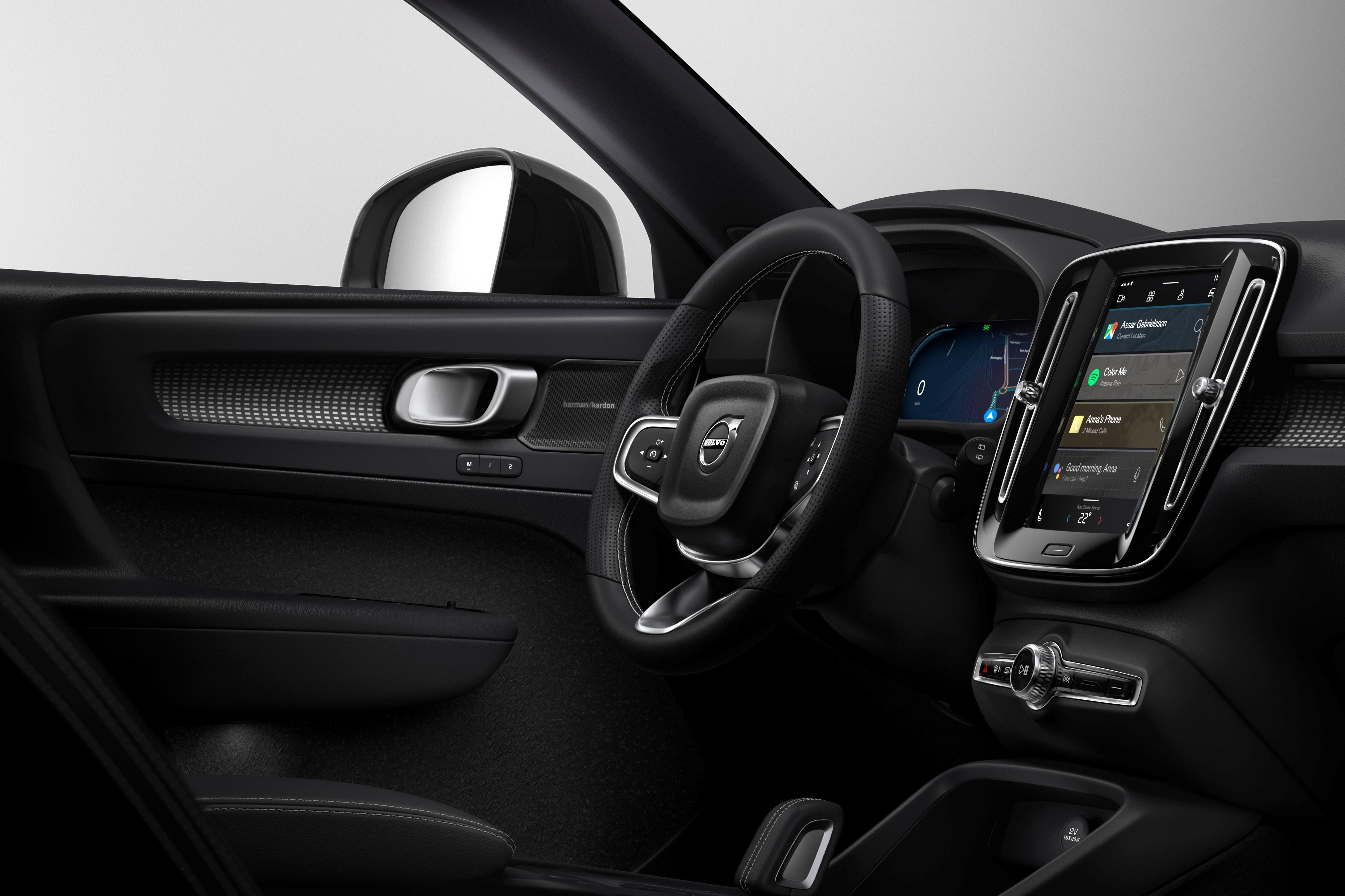 Volvo choisit Google pour son SUV XC40 100 % électrique