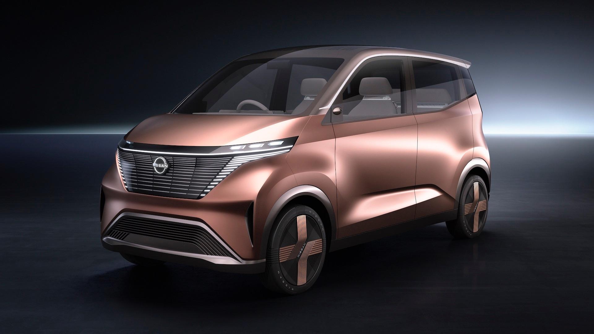 Nissan dévoile un concept de citadine électrique vraiment peu élégant