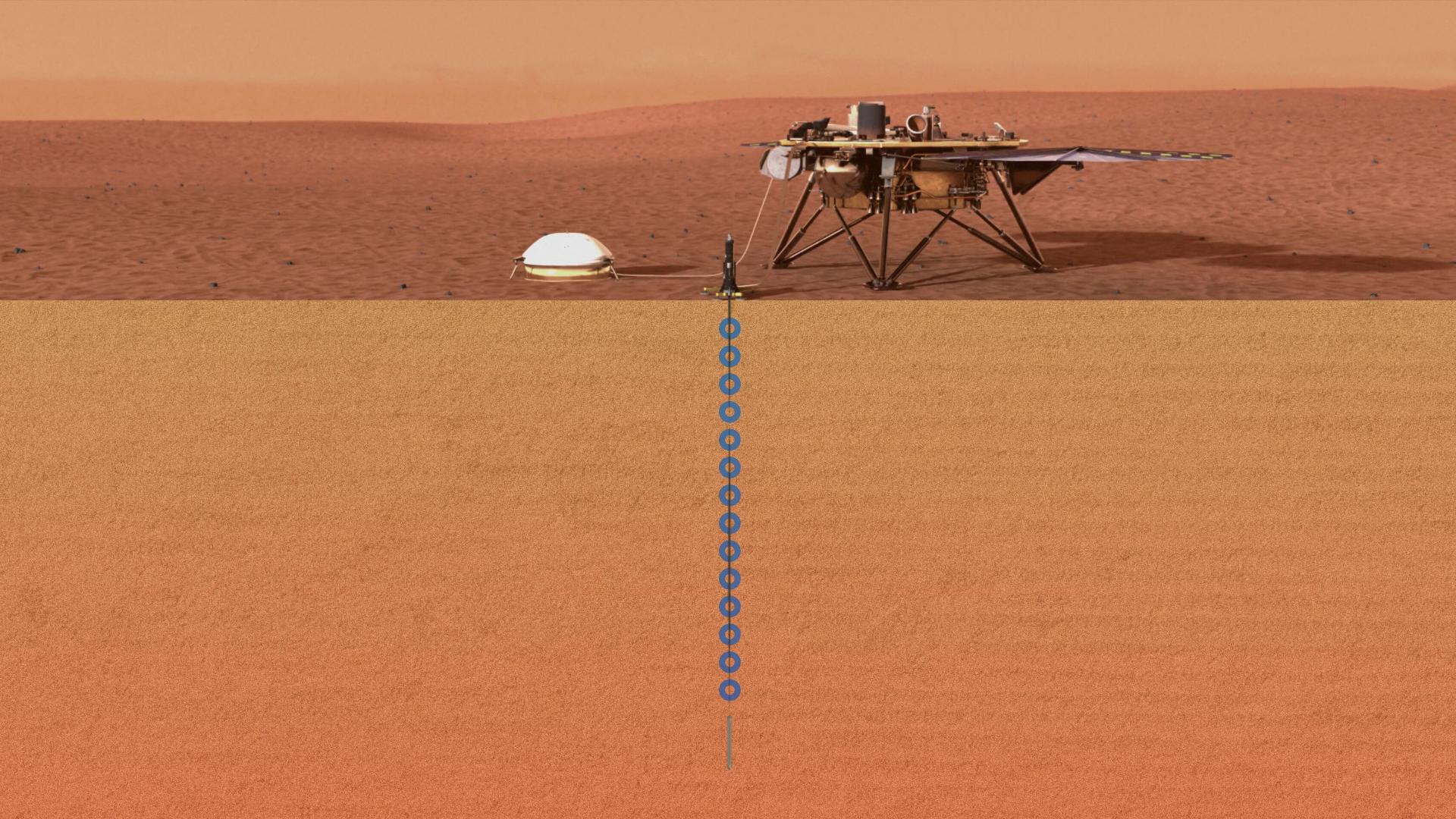 InSight parvient enfin à creuser sur Mars : pourquoi était-ce si difficile ?