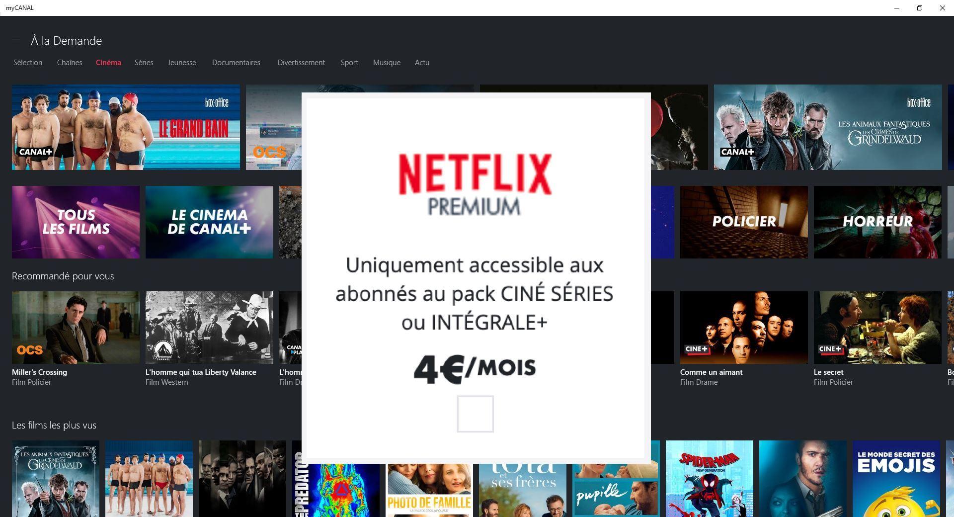 Netflix est officiellement dans les offres Canal+ : voici combien ça coûte
