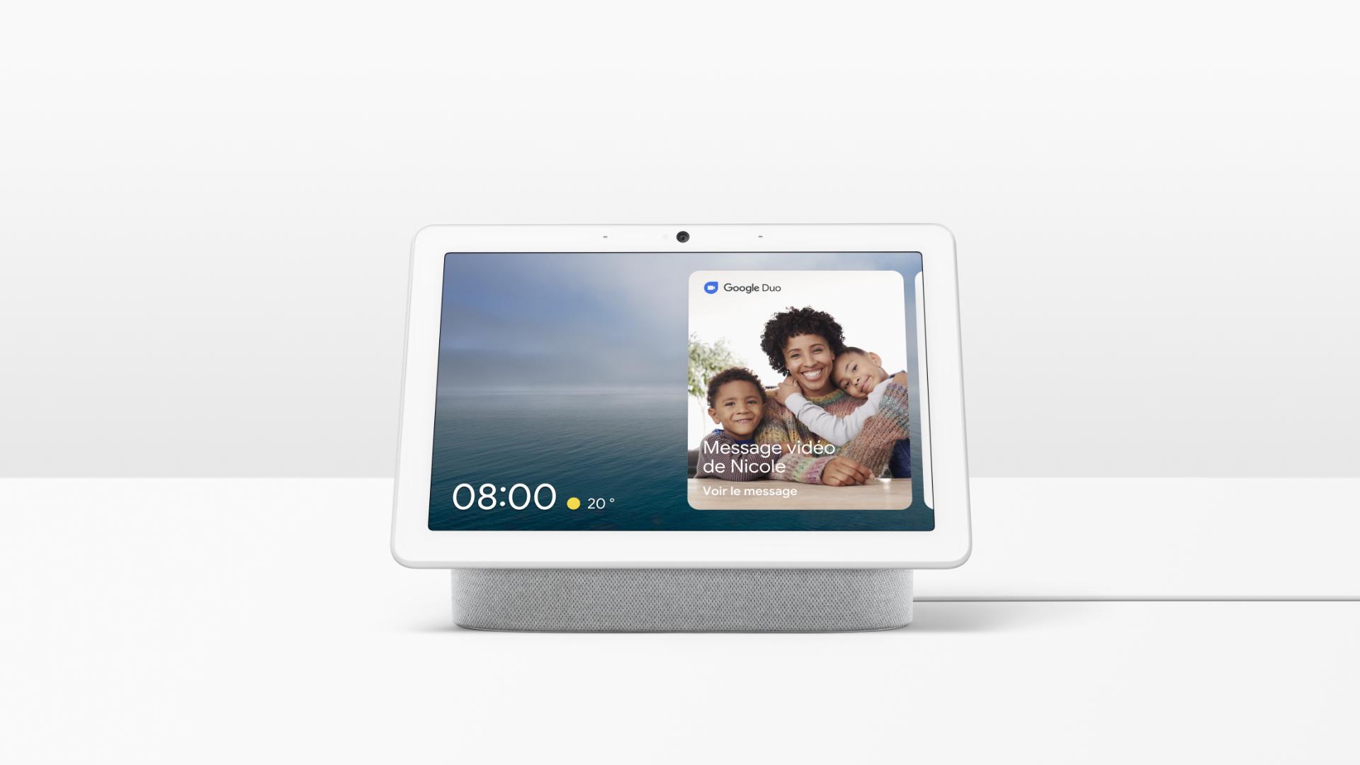 Google lance son Nest Hub Max en France : enfin un écran connecté malin ?