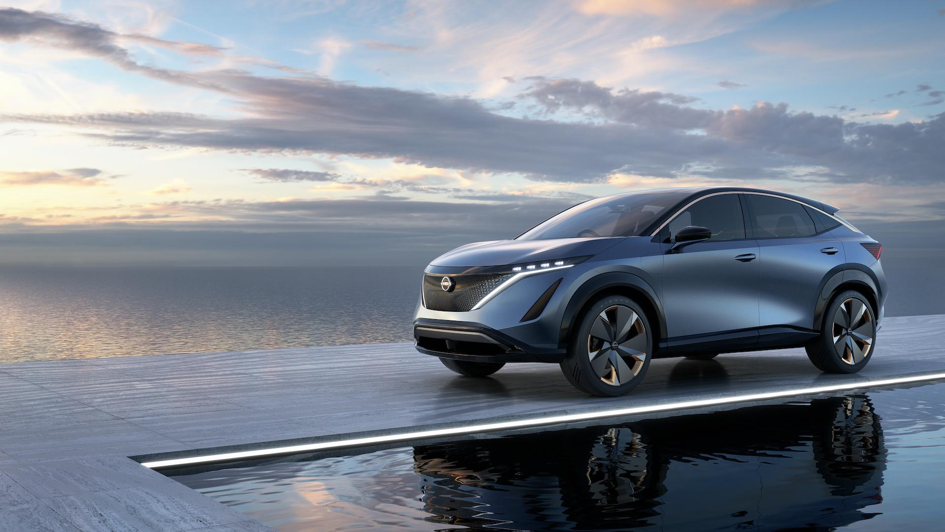Nissan présente un crossover 100 % électrique très élégant