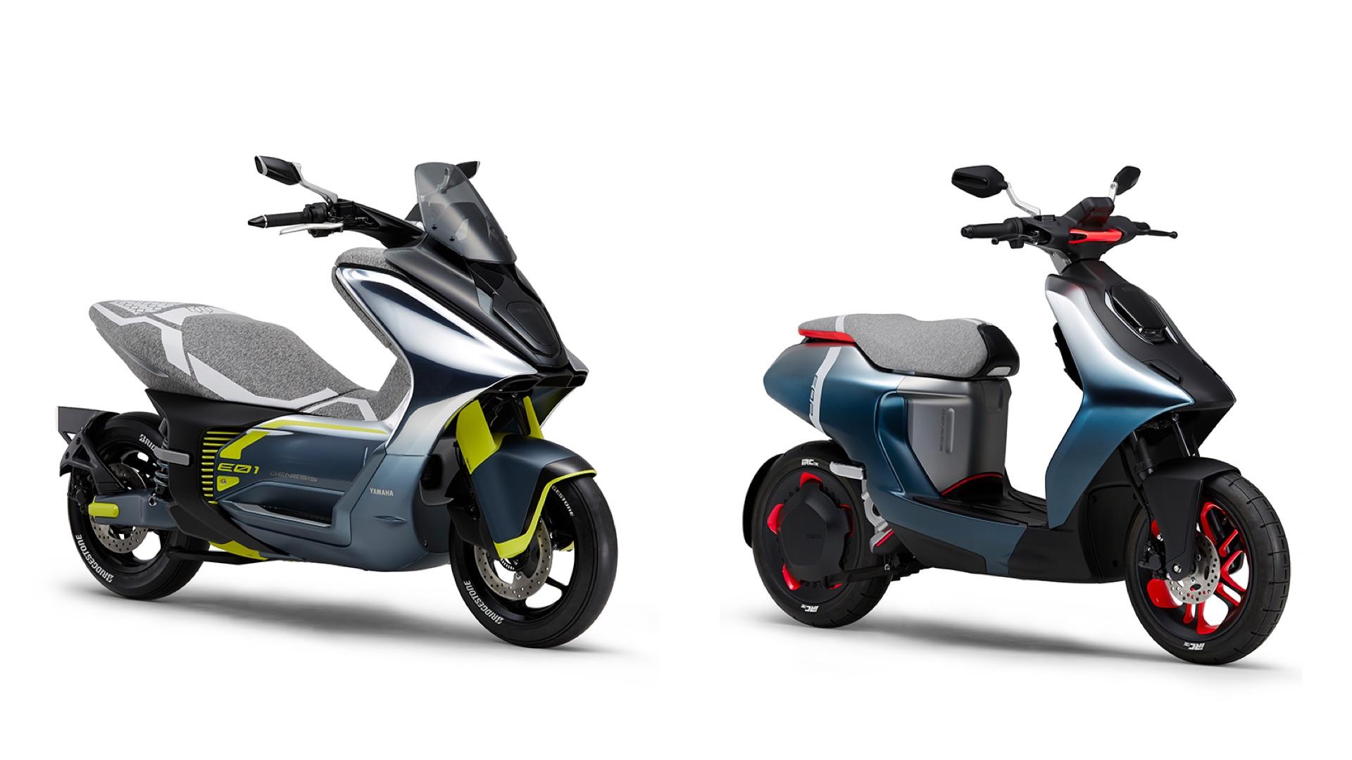 Yamaha présente ses nouveaux scooters électriques qui sont très… Yamaha