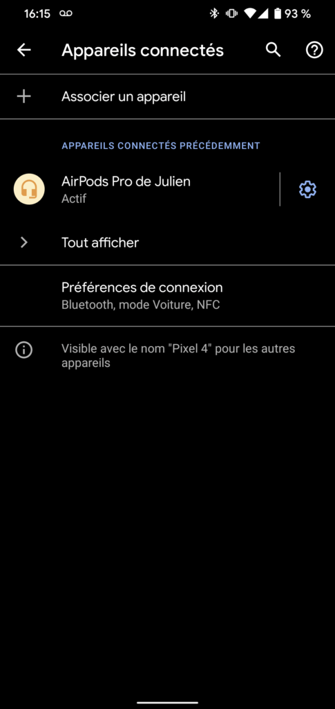 screenshot 20191031 161502 485x1024 - How to configure AirPods Pro on Android - Tech