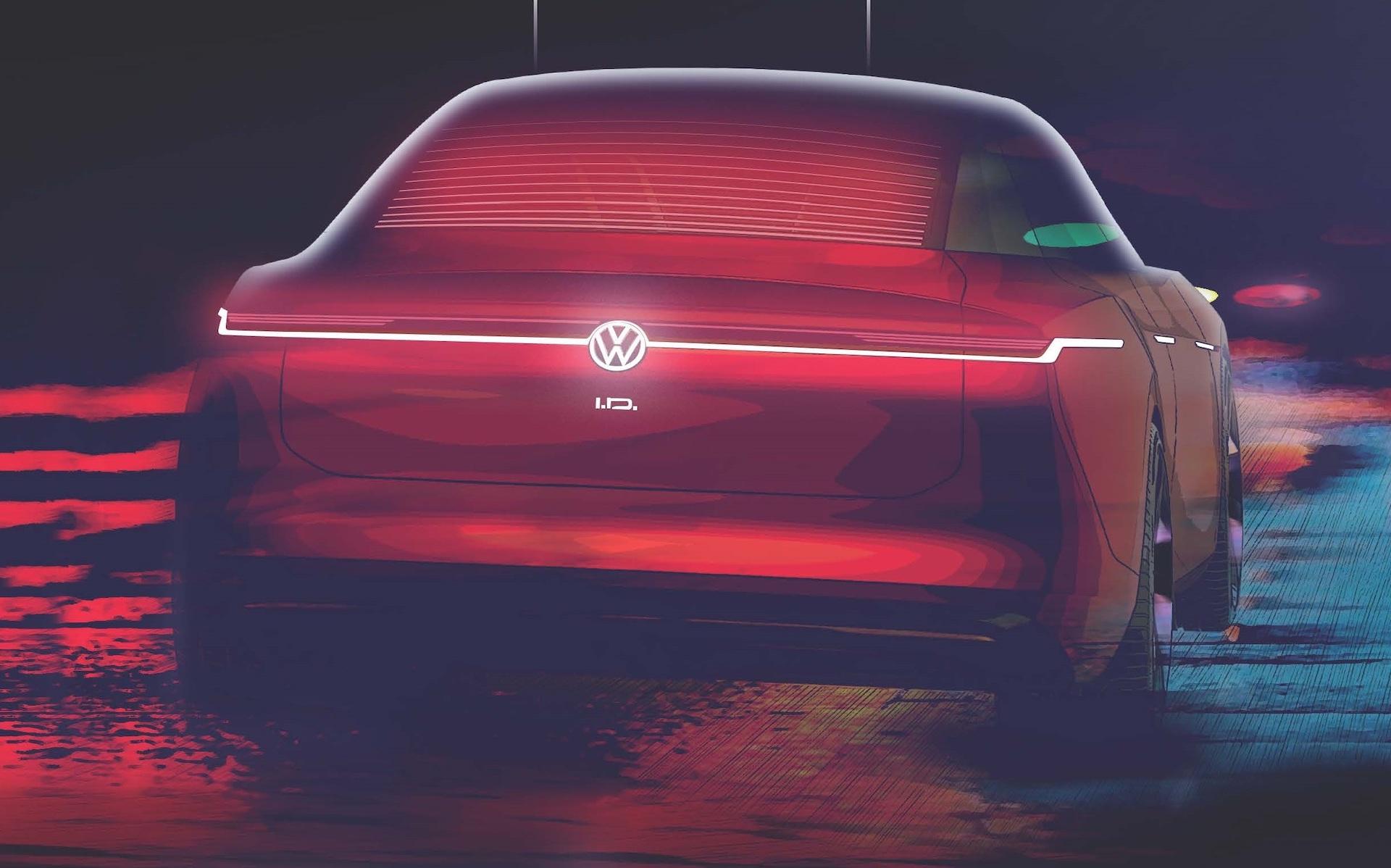 Volkswagen s'apprête à dévoiler un septième concept électrique ID.
