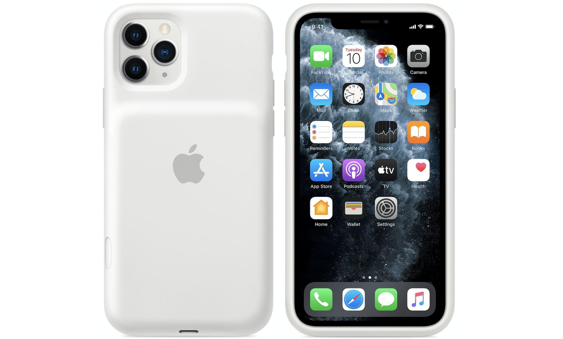 Pour rendre la coque-batterie des iPhone 11 attirante, Apple a ajouté un bouton photo pratique